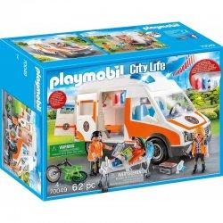 Playmobil 70049 - Karetka ze Światłem i Dźwiękiem