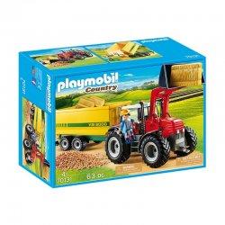 Playmobil 70131 - Duży traktor z przyczepą