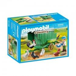 Playmobil 70138 - Mobilny kurnik