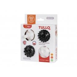 Piłki Sensoryczne dla dzieci - czarno-białe 4 szt - Tullo 461