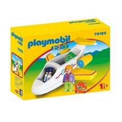 Playmobil 70185 - Samolot pasażerski 1.2.3