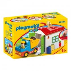 Playmobil 70184 - Ciężarówka z garażem i funkcją sortera 1.2.3