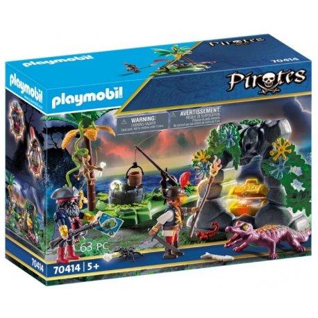 Playmobil 70414 - Kryjówka skarbów piratów