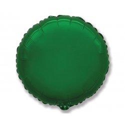 """Balon foliowy okrągły 18"""" zielony"""