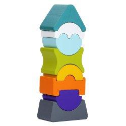 Cubika Drewniana balansująca wieża LD-7