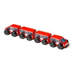 Drewniany pociąg - Express - Cubika