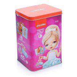 Ubieranie lalki - Puzzle Magnetyczne - Laleczki 2 - Cubika