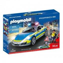 Playmobil 70066, Porsche 911 Carrera 4S Policja