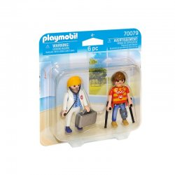 Playmobil 70079 - Duo Pack Lekarka i Pacjent
