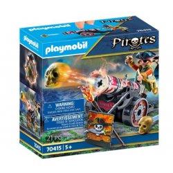 Playmobil 70415 - Pirat z armatą
