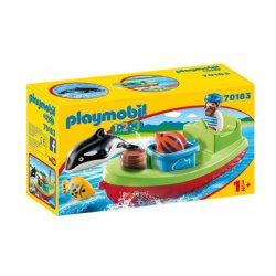 Playmobil 70183 - Marynarz z łodzią rybacką