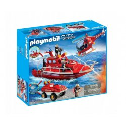 Playmobil 9503 - Straż pożarna z motorem podwodnym