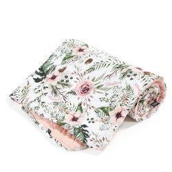 Narzutka przedszkolaka Velvet, Wild Blossom, Powder Pink, La Millou