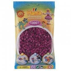 Hama 207-82 - Kolor ciemna fuksja- 1000 szt midi