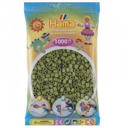 Hama 207-84 - Kolor oliwkowy- 1000 szt midi