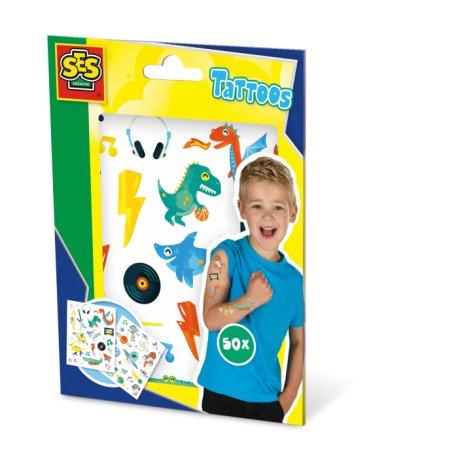 Kreatywna zabawa - Tatuaże dla dzieci - SES Creative