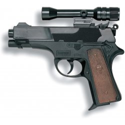 Pistolet na kapiszony LEOPARDMATIC - Edison Giocattoli