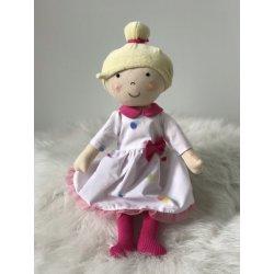 Lalka Kornelia w sukience w kropki