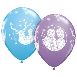 Balony lateksowe FROZEN - mix - 27,5 cm