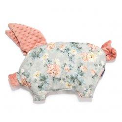Poduszka Sleepy Pig, Blooming Boutique, Papaya, La Millou