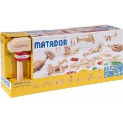 Matador Explorer E222 - Klocki Drewniane Konstrukcyjne od 5 roku życia