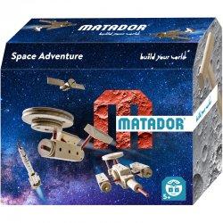 Matador Space 5+ - Statek kosmiczny z drewnianych klocków