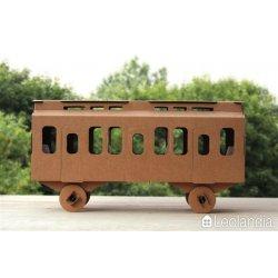 Wagon z tektury - Kartonowy Wagon - Leolandia