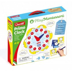 Quercetti 0624 - Montessori Pierwszy zegar