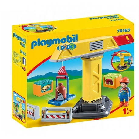Playmobil 70165 - Dźwig budowlany 1.2.3
