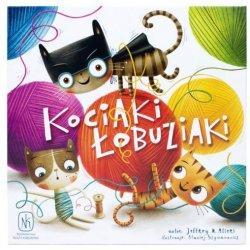 Gra - Kociaki Łobuziaki - Wydawnictwo Nasza Księgarnia