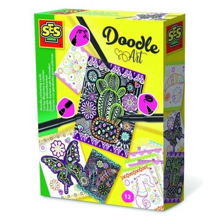 Kreatywna zabawa - Sztuka Doodle - SES Creative