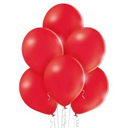 Balon lateksowy Pastel Red - 30 cm