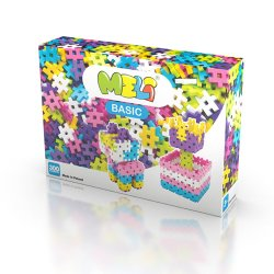 Plastikowe Klocki Meli Girls - 300 sztuk