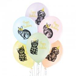 Balon Birthday Pets (Urodzinowe zwierzątka) - D11 Belbal
