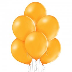 Balon lateksowy Pastel Orange - 30 cm