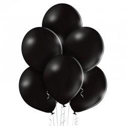 Balon lateksowy Pastel Black - 30 cm