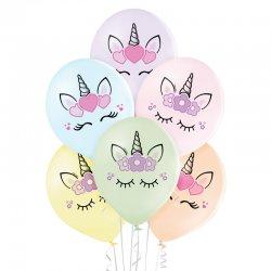 Balony Unicorn Heads (Głowy Jednorożca) - D11 Belbal