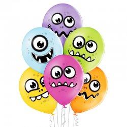 Balony Funny Monsters (Zabawne potworki) - D11 Belbal