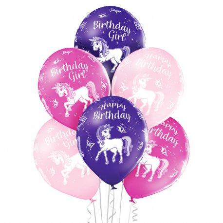 Balon - Urodzinowy Jednorożec (Birthday Unicorn) - D11 Belbal