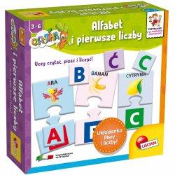 Alfabet i pierwsze liczby, Lisciani P54961