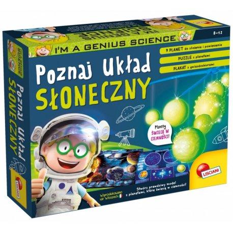 Mały geniusz - Poznaj Układ Słoneczny - Lisciani