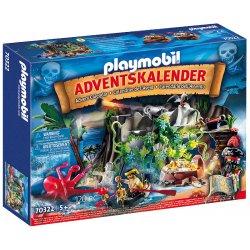 """Playmobil 70322 - Kalendarz adwentowy """"Poszukiwania skarbu w zatoce piratów"""""""