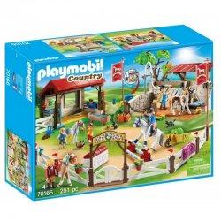 Playmobil 70166 - Duży parcour dla koni z myjnią