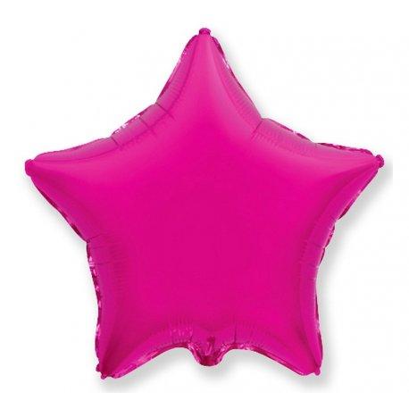 """Balon foliowy różowa gwiazda 18"""""""