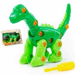 Polesie 77165 - Dinozaur Diplodok do skręcania i rozkręcania