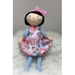 Lalka Emilia w sukience w kwiaty