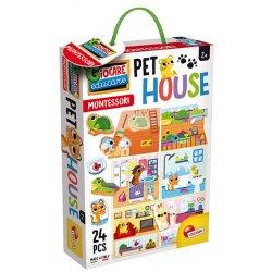 Lisciani 80120 - Montessori - Domek dla zwierząt