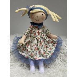 Lalka Hania Blondynka w sukience