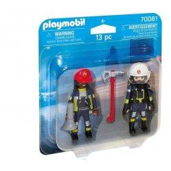 Playmobil 70081- Zestaw Duo Pack Strażacy