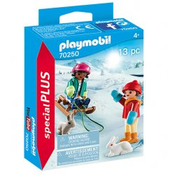 Playmobil 70250 - Dzieci na sankach